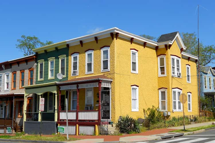 Anacostia neighborhood in D.C.