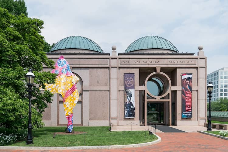National Museum of African Art entrance
