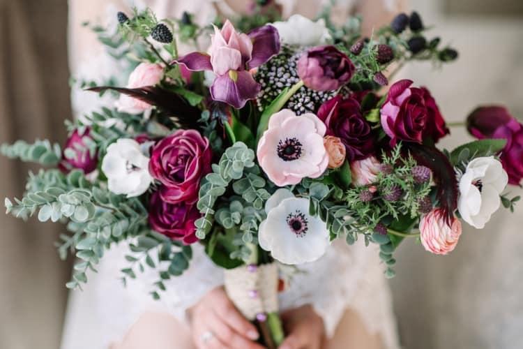 A beautiful floral bouquet