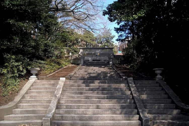 Spanish Steps in D.C.