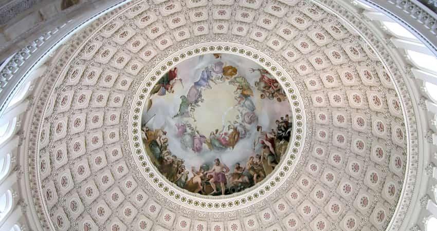 U.S. Captiol Rotunda interior art