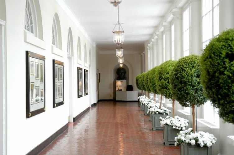 South Corridor of White House