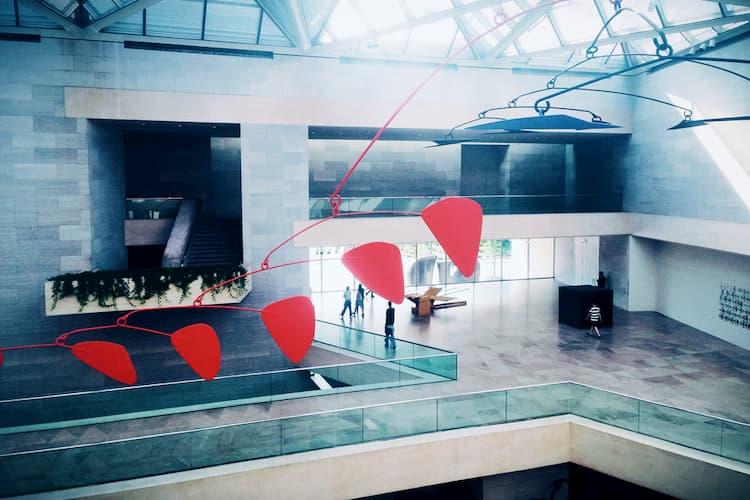National Gallery of Art East Building atrium