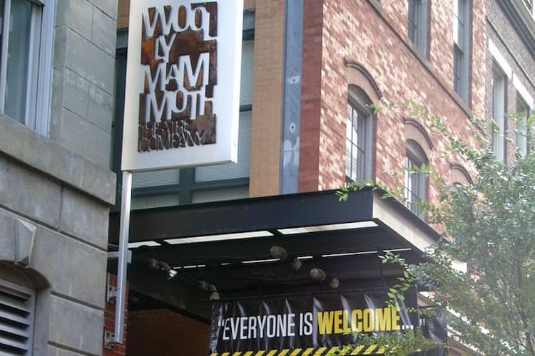 Exterior of Woolly Mammoth Theatre Company