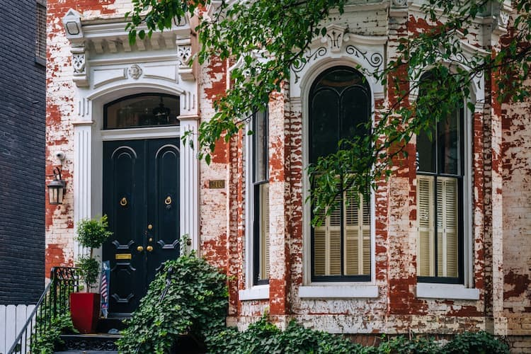 Rowhouse in Georgetown