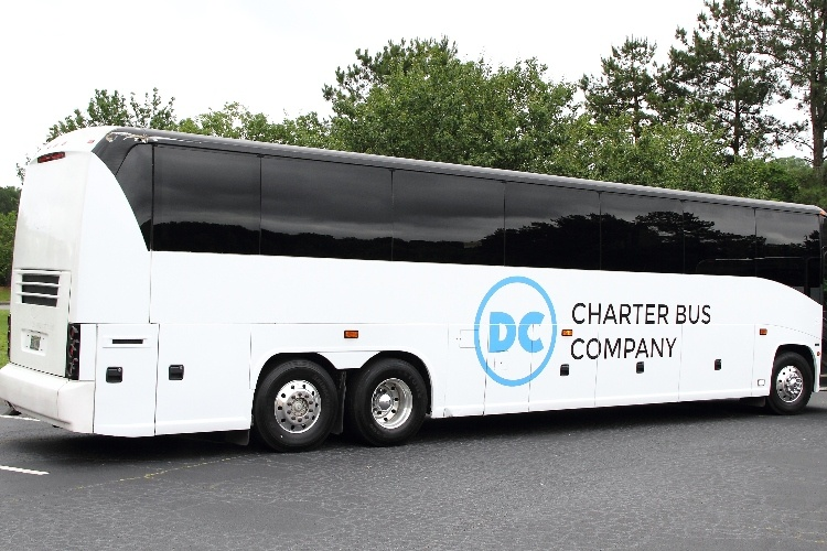 DC Charter Bus Company bus rental
